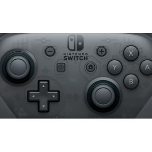 nintendo switch pro controller manette de jeu nintendo switch pc noir. Black Bedroom Furniture Sets. Home Design Ideas