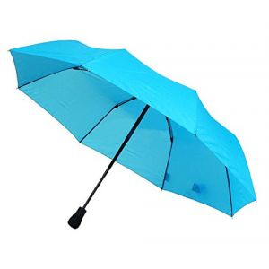 EuroSCHIRM light trek automatic Bleu Fibre de verre Polyester Compact Rain umbrella