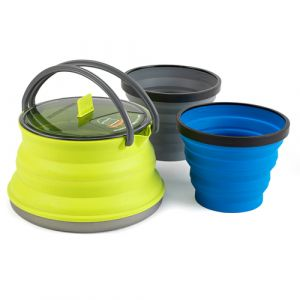 Sea To Summit X-Set 11 Rond Nylon, Silicone Pliable Régler Ustensile de camping