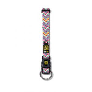 Max & Molly Vintage Pink Multicolore Neoprene,Nylon Large Chien Collier standard collier pour animaux de compagnie