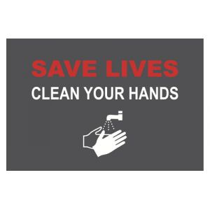Novus Save lives protection de surfaces Gris, Rouge, Blanc PVC