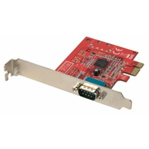 Lindy 1 Port Serial RS-232 PCIe Card carte et adaptateur d'interfaces