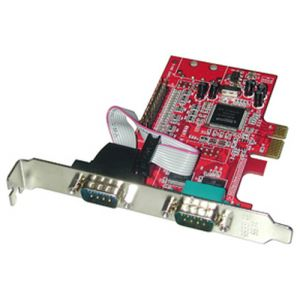 Lindy 3-Port PCIe Serial/Parallel Card carte et adaptateur d'interfaces