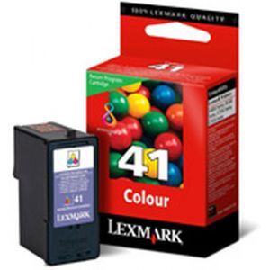 Lexmark #41 Color Return Program Print Cartridge Gelb Tintenpatrone