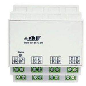 M-Cab RS485 shutter contact 12-channel, DIN rail mount