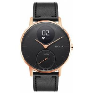 Nokia Steel HR Wristband activity tracker Sans fil Noir, Rose Gold