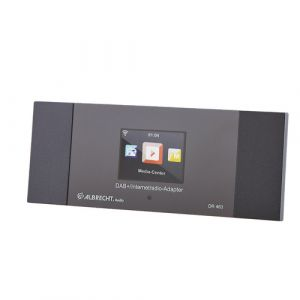 Albrecht DR 463 Internet Radio-Adapter DAB+, UKW Bluetooth®, DLNA, Internetradio, WL... (27463)