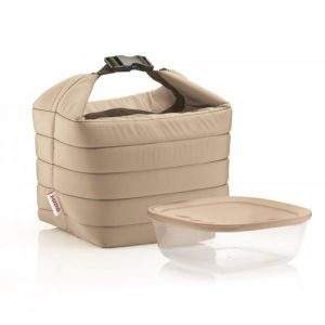 Fratelli Guzzini On the Go Thermotasche Braun, Sand, Transparent