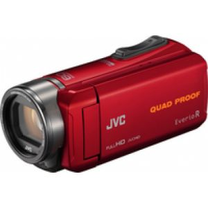 JVC GZ-R435 Handkamerarekorder 2.5MP CMOS Full HD Rot