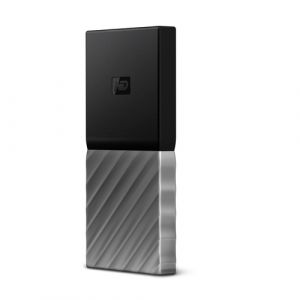 Western Digital My Passport 256 Go Noir, Argent