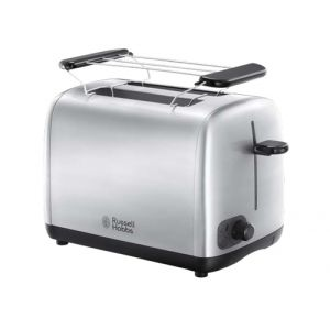 Russell Hobbs 24080-56 grille-pain 2 part(s) Argent 850 W