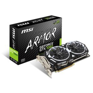 MSI GeForce GTX 1060 ARMOR 3G OCV1 3 GB GDDR5
