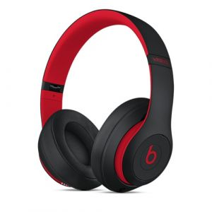 Apple Beats Studio3 casque Arceau Noir, Rouge