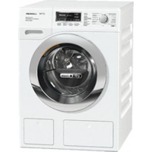 Miele WTZH 700-30 CH Frontlader Freestanding (placement) Chrom, Weiß A