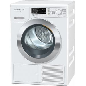 Miele TKG 800-40 CH g Freestanding (placement) Frontlader Chrom, Weiß 8 kg A+++