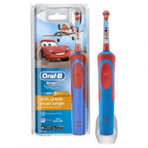 Oral-B Stages Power Kids Child Rotating-oscillating toothbrush Multicolour