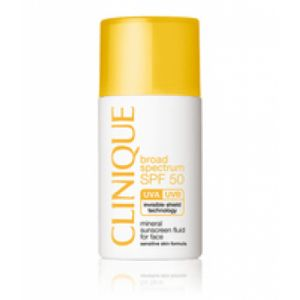 Clinique SPF 50 Mineral Sunscreen Fluid For Face Sonnencreme Gesicht 30 ml