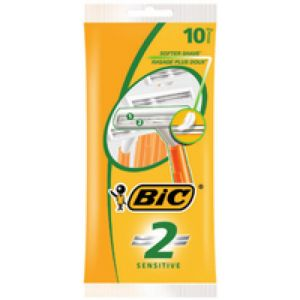 BIC Sensitive 2 Herrenrasierer Orange