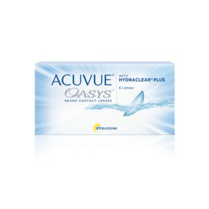 Johnson & Johnson Acuvue Oasys, 6-Pack Two Weekly 6pièce(s) lentille de contact