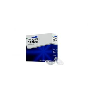 Bausch & Lomb PureVision, 6-Pack Mensuel 6pièce(s)