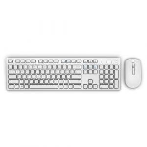 DELL KM636 clavier RF sans fil QWERTY US International Blanc