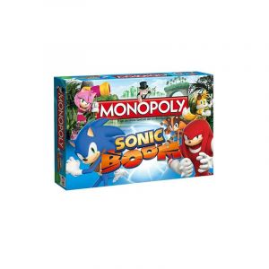 WINNING MOVES, Monopoly Sonic Boom  (609036)