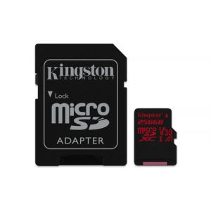 Kingston Technology Canvas React mémoire flash 256 Go MicroSDXC Classe 10 UHS-I