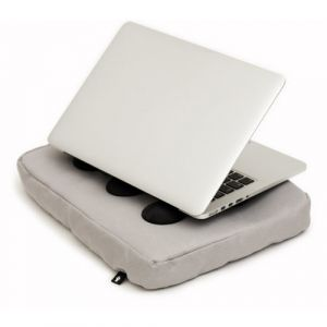 "Bosign Surfpillow Hitech for laptop 16"" Noir, Argent"