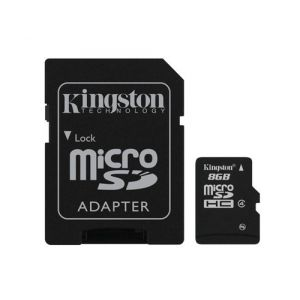 Kingston Technology SDC4/8GB mémoire flash 8 Go MicroSD