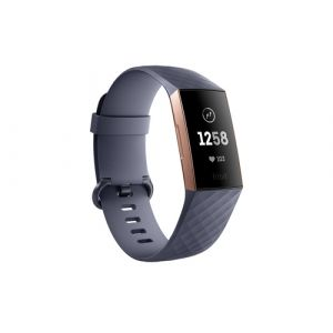 Fitbit Charge 3 Bracelet connecté Gris, Or rose OLED