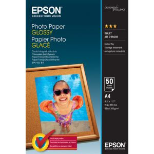 Epson Photo Paper Glossy - A4 - 50 Blätter