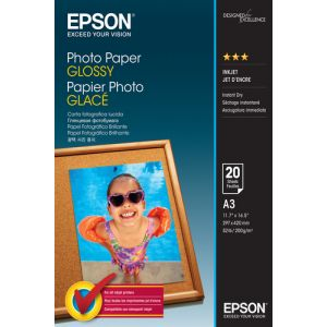 Epson Photo Paper Glossy - A3 - 20 Blätter