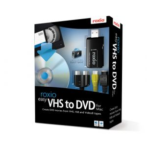 Corel Easy VHS to DVD for Mac carte d'acquisition vidéo USB 2.0