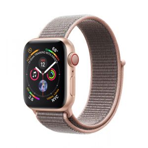 Apple Watch Series 4 montre intelligente Or OLED Cellulaire GPS (satellite)