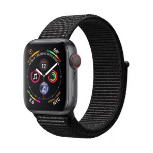 Apple Watch Series 4 Smartwatch Grau OLED Handy GPS