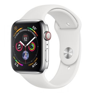 Apple Watch Series 4 Smartwatch Edelstahl OLED Handy GPS