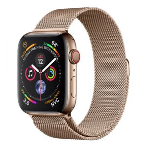 Apple Watch Series 4 Smartwatch Gold OLED Handy GPS