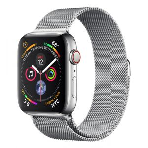 Apple Watch Series 4 OLED 44 mm Edelstahl 4G GPS