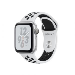 Apple Watch Nike+ Series 4 Smartwatch Silber OLED GPS