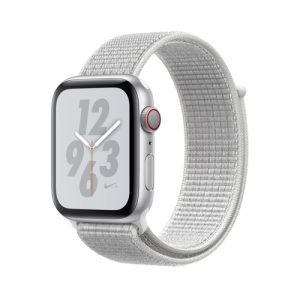 Apple Watch Nike+ Series 4 OLED 44 mm Argent 4G GPS (satellite)
