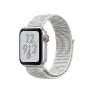 Apple Watch Nike+ Series 4 Smartwatch Silber OLED Handy GPS