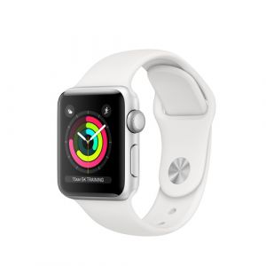 Apple Watch Series 3 montre intelligente Argent OLED GPS (satellite)