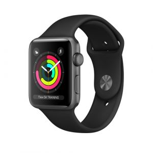 Apple Watch Series 3 Smartwatch Grau OLED GPS