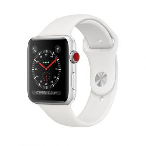Apple Watch Series 3 Smartwatch Silber OLED Handy GPS