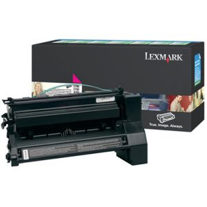 Lexmark C780, C782 Magenta High Yield Return Program Print Cartridge Original