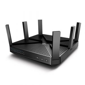 TP-LINK Archer C4000 WLAN-Router Tri-Band (2,4 GHz / 5 GHz / 5 GHz) Gigabit Ethernet Schwarz