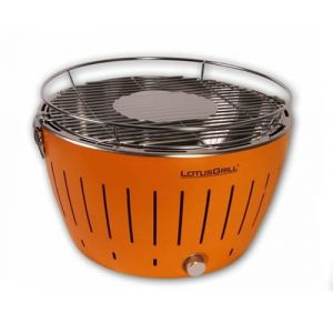 LotusGrill G-OR-34 Barbecue & Grill Charcoal Kettle Orange
