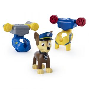 PAW Patrol – Chase Action Pack avec grappin extensible et badge à collectionner
