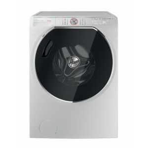 Hoover AWDPD 496LH/1-S Frontlader Freestanding (placement) Weiß A