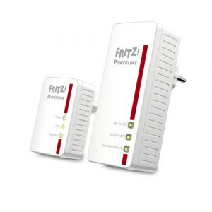 AVM FRITZ!Powerline 540E WLAN Set International 500 Mbit/s Ethernet/LAN Wifi Blanc 2 pièce(s)